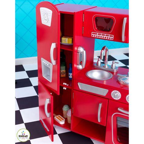 Cuisine Vintage Rouge Cuisine Vintage Cuisine Retro Et Chambre
