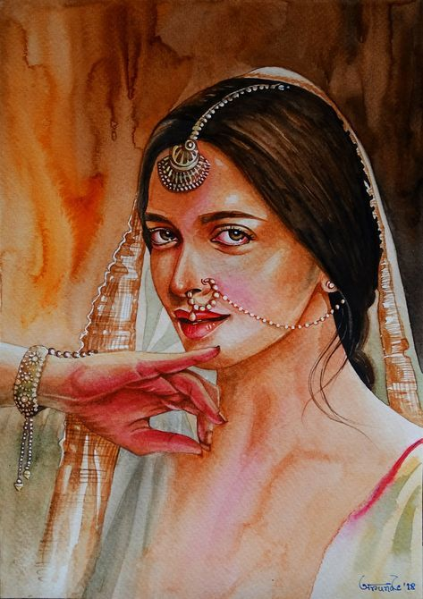 Art People Painting Faces Makeup 35 Ideas In 2020 Body Art Painting Woman Female Art Painting Indian Art Paintings
