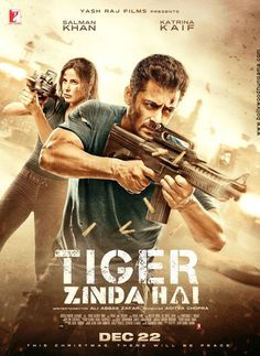 Tiger Zinda Hai (2017) - War Movies Box | Bollywood in 2019 | Free