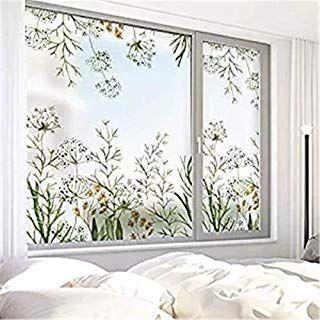 Amazon Com Decorative Glass Film For Sliding Glass Doors Window