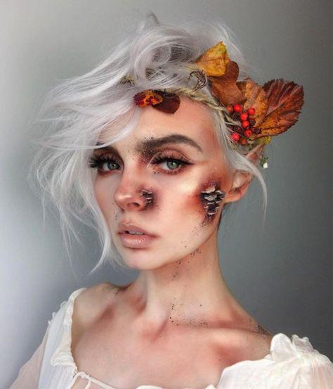 Wood Nymph - Magical Fairytale Makeup Ideas - Photos