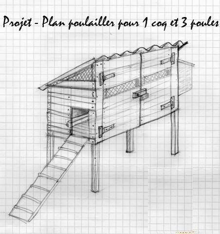 Plan D Un Poulailler Projet10 Poulailler Plan Poulailler Poulailler Palette