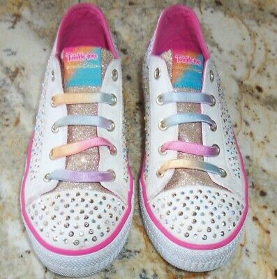Sponsored Ebay Skechers Twinkle Toes Limited Edition Shuffles