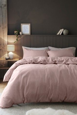 Brushed Cotton Duvet Cover And Pillowcase Set Cotton Duvet Cover King Size Duvet Covers Cotton Duvet