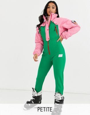 Asos 4505 Petite Ski 80 S Color Block Ski Suit Asos Vegan Clothing Everday Style Clothes