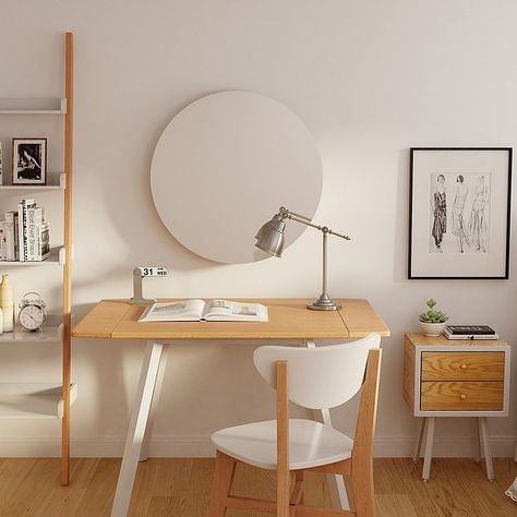 Enhance your living space with the Universal Expert Remus Modern Furniture Collection, which is ideal for modern, urban or contemporary homes. Study Room Decor, Room Ideas Bedroom, Home Bedroom, Desk In Bedroom, Ikea Bedroom Decor, Nautical Bedroom, Apartment Furniture, Home Furniture, Furniture Design