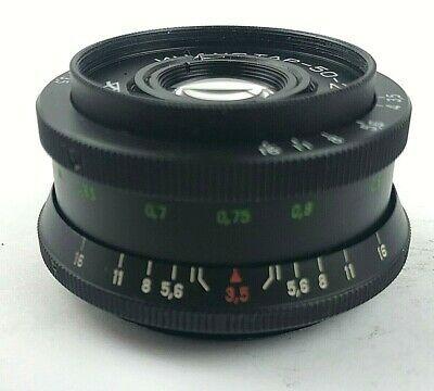 INDUSTAR 50-2   f//3.5 50mm Russian SLR Lens M42