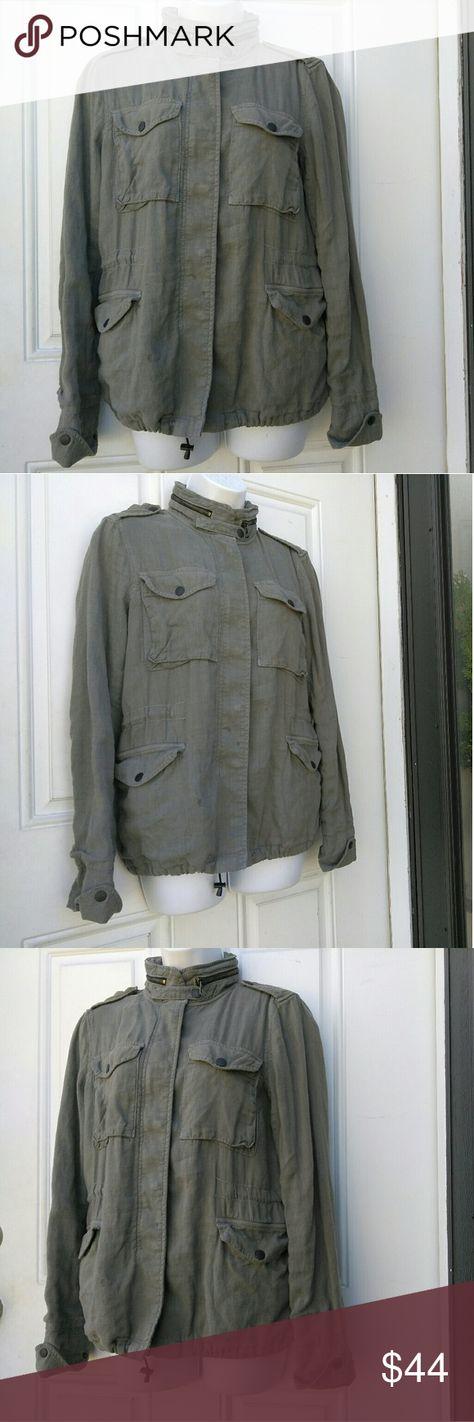 e81410728 rag & bone Linen blend jacket Rag & Bone like blend jacket in good condition .