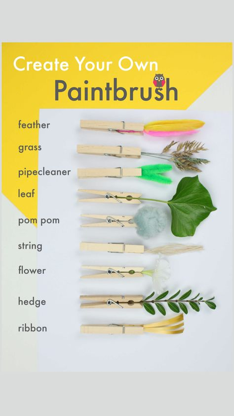 Create your own PAINTBRUSHES