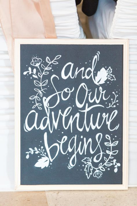"""""""And so our adventure begins"""" http://www.stylemepretty.com/canada-weddings/british-columbia/vancouver/2015/08/31/rustic-romantic-vancouver-wedding/ 