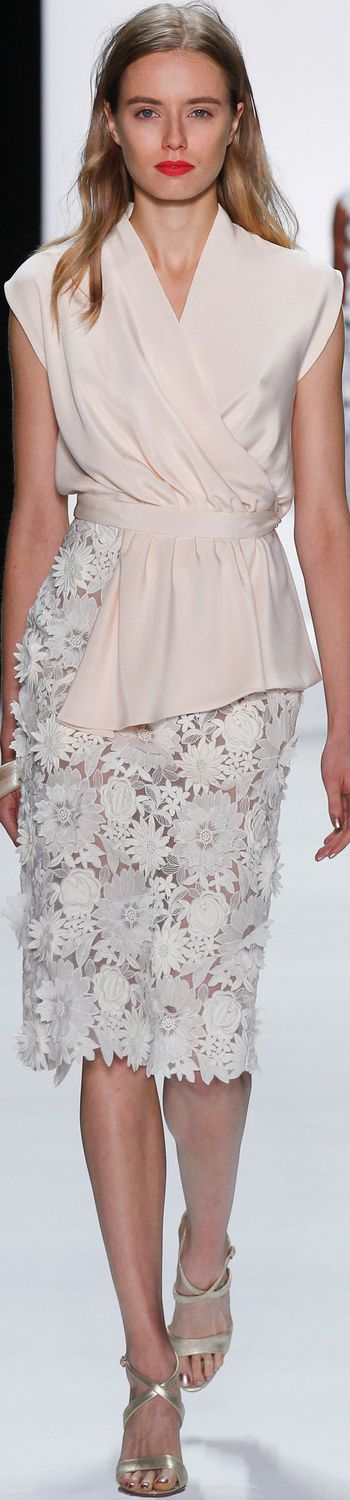 BADGLEY MISCHKA SPRING 2016 RTW women fashion outfit clothing style apparel @roressclothes closet ideas