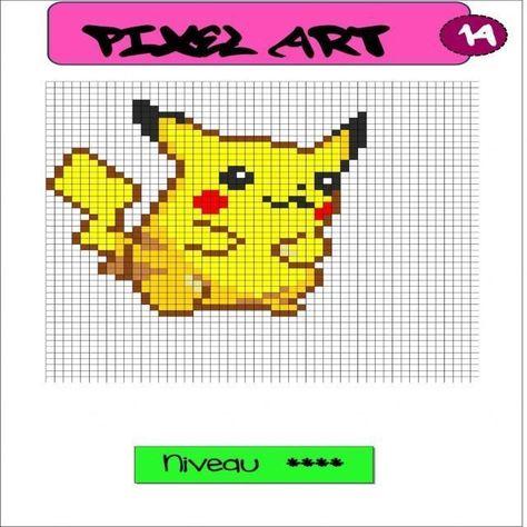 Coloriage Pixel Art A Imprimer Pixel Art Pokemon Pixel Art Pix Art
