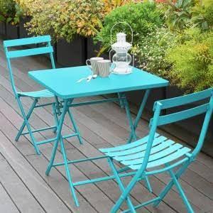 Tavolo Da Giardino Metallo.Tavolo Da Giardino Pieghevole Quadrato Metallo Greensboro 70 X 70