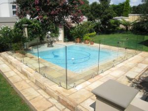 Glass Fence For Swimming Pool | POOL in 2019 | Pool fence ...