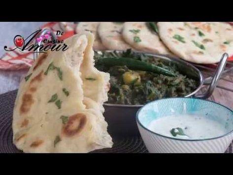 le pain le plus facile pour ramadan 2018: pain indien naans à la
