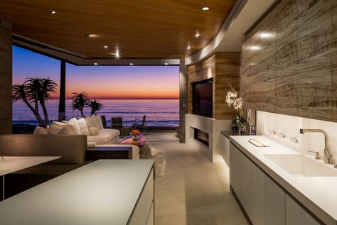 My Husbands Boss Kitchen And Living Room View Of Windansea Beach