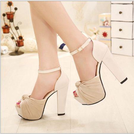 Nuevas señoras de la Alta Moda Botas al Tobillo Zapatos De Plataforma Taco Alto Stiletto Tamaños