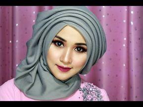Pin By My Nember On Turban Hijab Tutorial Tutorial Hijab Wisuda Hijab Style Tutorial