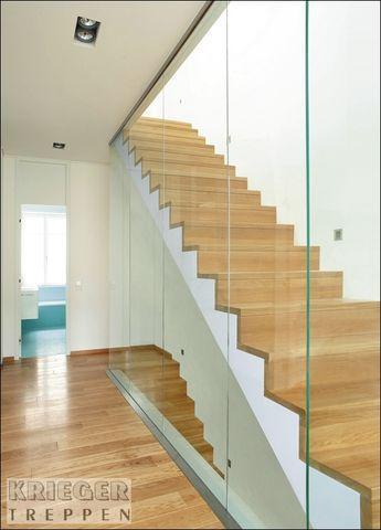 Treppen Mit Glasgeländer glasgeländer für ihre treppe krieger treppen treppen