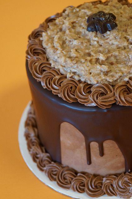 German Chocolate birthday cake Chocolate birthday cakes German