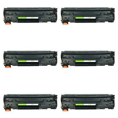 6 Cf283a 83a Black Toner Cartridges For Hp Laserjet Pro M127fn M127fw M125nw Mfp Laser Toner Cartridge Graphic Card Things To Sell
