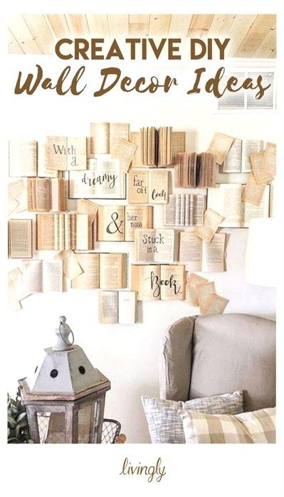 Creative Diy Wall Decor Ideas Diy Home Decor Bedroom Diy Wall