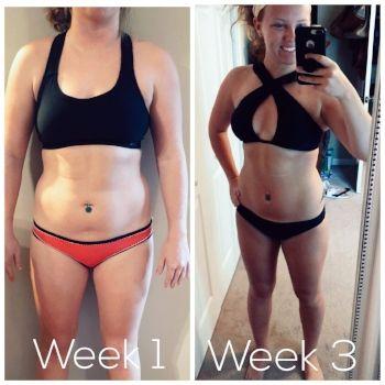 intermittent diet 3 weeks