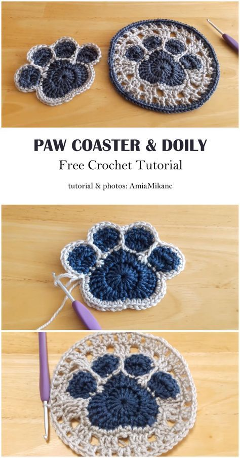 Crochet Coaster Pattern, Crochet Motifs, Crochet Squares, Crochet Doilies, Knitting Projects, Crochet Projects, Knitting Patterns, Crochet Patterns, Doily Patterns