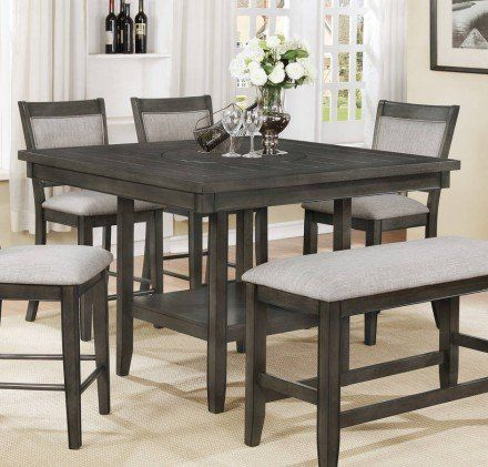 37+ Crown mark dining room counter height table Various Types
