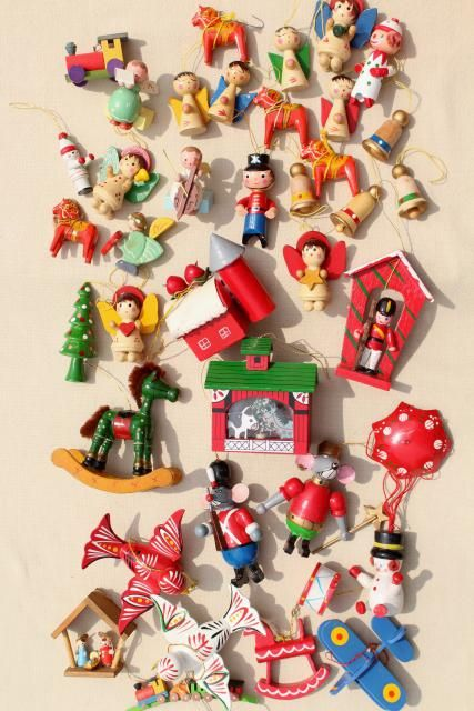 Pin By Melanie Wood On 80s Party Wood Christmas Ornaments Wooden Christmas Ornaments Retro Christmas Tree