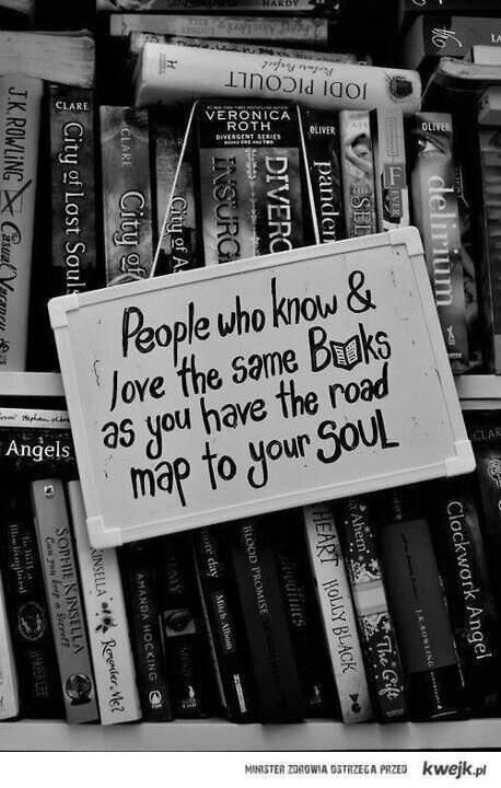 ♥ books are road maps to the soul