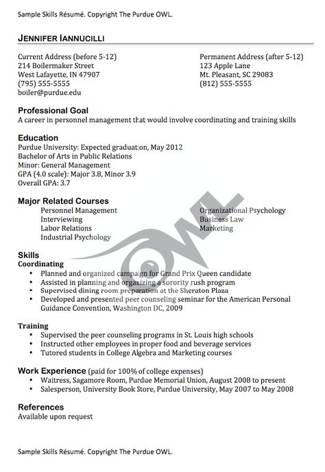 Sample resume skills -    resumesdesign sample-resume - examples of resume skills