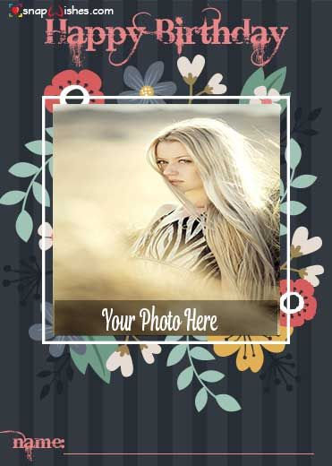 Free Online Photo Editor Birthday Card With Photo Photo Card Maker Photo Cards