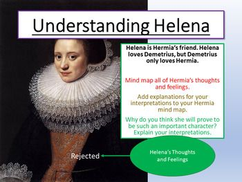 A Midsummer Night S Dream Understanding Helena With Images