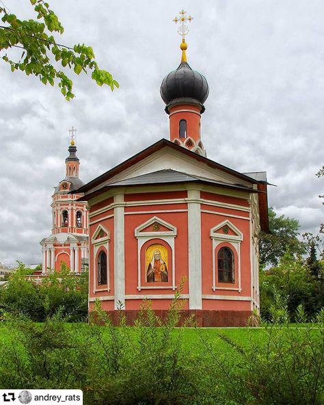 Автор фото @andrey_rats ・・・ Церковь святителя Тихона, патриарха Всероссийского. Донской монастырь. Москва.  Была основана в 1997 году по…