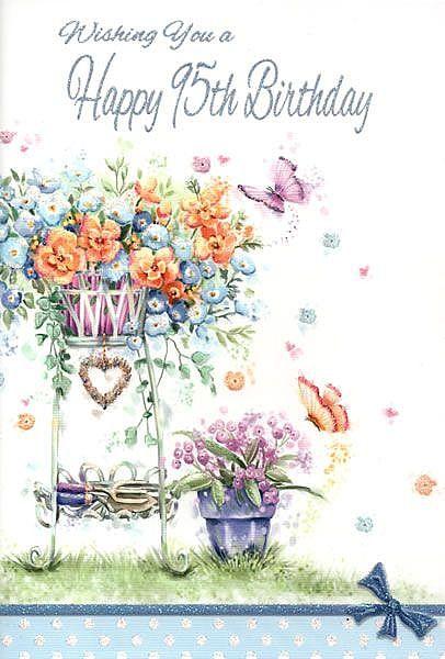 Hallmark 95th Birthday Greeting Card Happy Memories Celebration Age 95 New Today