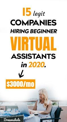 15 Legit Companies That Offer Virtual Assistant Jobs - Dreamshala
