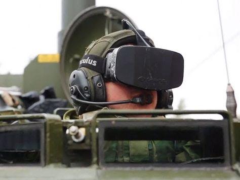 Norwegian Army Drives Tanks Using Oculus Rift VR Goggle