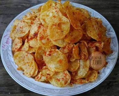 Kripik Kentang Pedas Resep Masakan Resep Makanan Dan Minuman