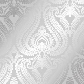 I Love Wallpaper Shimmer Damask Wallpaper Soft Grey Silver Wallpaper From I Love Wallpaper Uk Chambre A Coucher Papier Peint Tapisserie Chambre Papier Peint