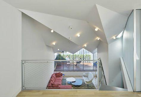 Arredare un attico moderno con terrazzo: idee da New York - Elle Decor Italia