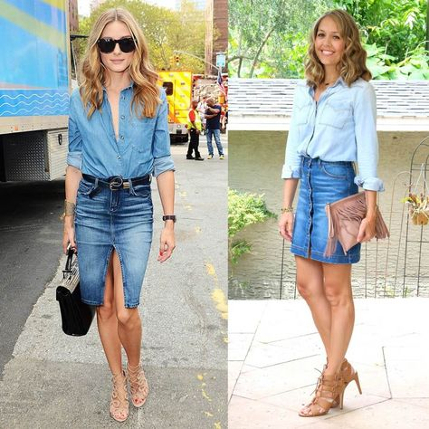 Today's Everyday Fashion: Button Front Skirt