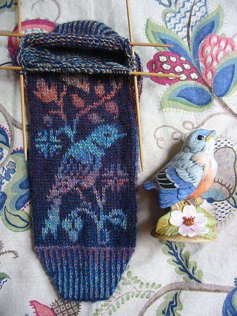 Ravelry: Bereni's Nightingales at Twilight | Fair Isle/Stranded/DK ...