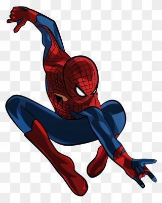 Number 4 Clipart Spiderman Cartoon Amazing Spider Man Png Download Spiderman Cartoon Clip Art Spiderman
