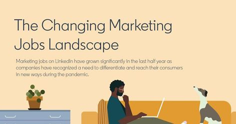 LinkedIn Data: The Changing Marketing Jobs Landscape [Infographic]