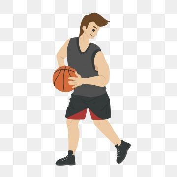 Basketball Play Basketball Basketball Player Athlete Cartoon Cartoon Basketball Man Playing Basketball Png And Vector With Transparent Background For Free Do Balls Clothes Book Baskets Gaming Clothes