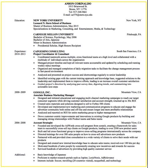 sample business development and consulting resume - http - resume consulting