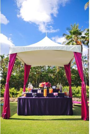 Colored Leg Drapes For 10 X 10 Tent Candy Bar Wedding Tent 10x10 Tent