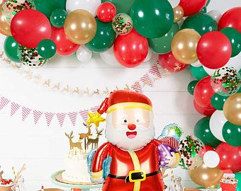 """Candy Cane 33/"""" Christmas Foil Balloons Xmas Decoration Party Supplies New Year"""