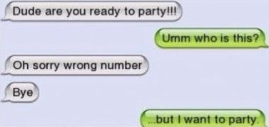 iphone sms i wanna party funny and interesting pinterest